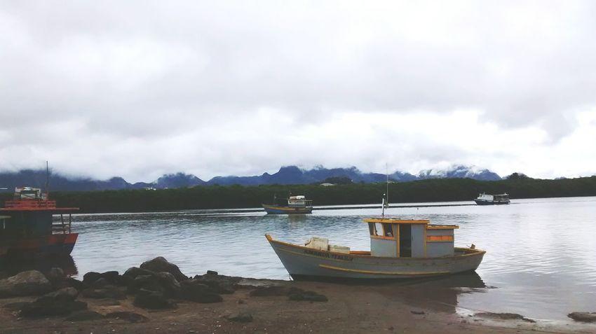 Keepcalm Clouds And Sky Boats Sea Mountains Guarapari