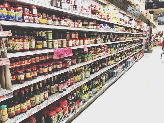 Asian supermarket Retail  Shelf Choice Variation Store Consumerism Supermarket Indoors  Large Group Of Objects Abundance Merchandise Market Arrangement No People Multi Colored Food Day Perfume Counter