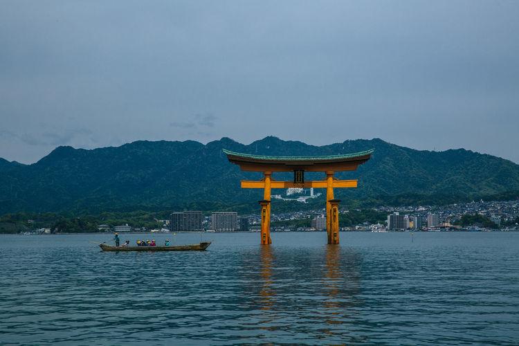 Architecture Beauty In Nature Culture Japan Japan Photography Lake Miyajima Nature Scenics Travel Destinations Water