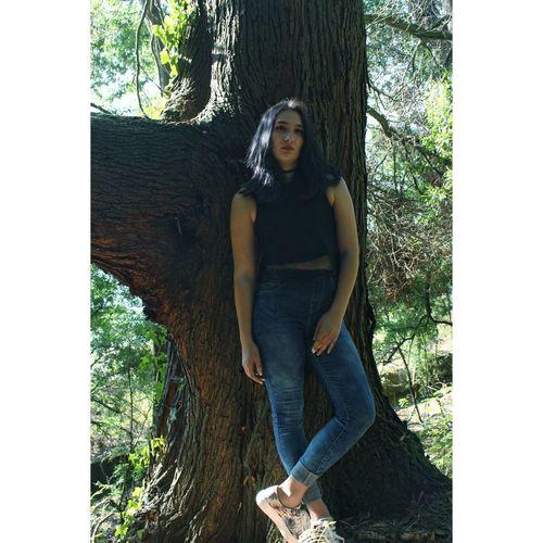 Tree Girl Fashion Outfit Blackhair Fashiongirl  Girltumblr Tumblr Tumblrgirl