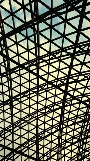 Close-up Architectural Design Seamless Pattern Circular Grid Triangle Hexagon