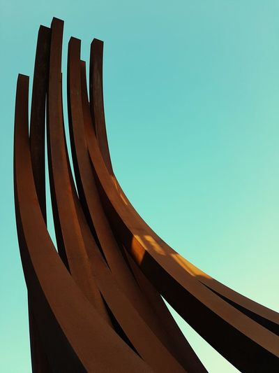 Art Neu-Ulm Germany Sculpture Heaven Sun Curve