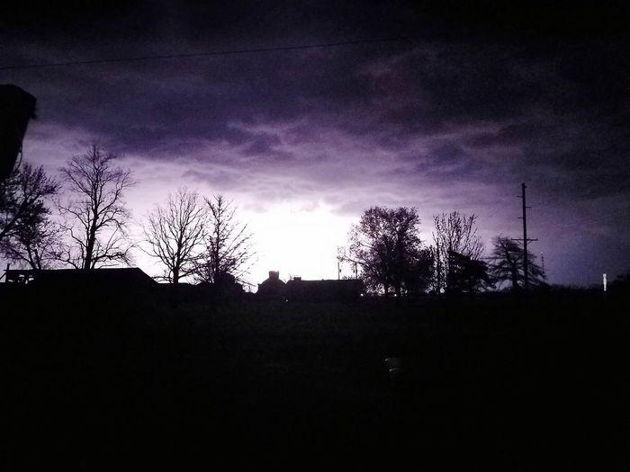 Stormy night First Eyeem Photo