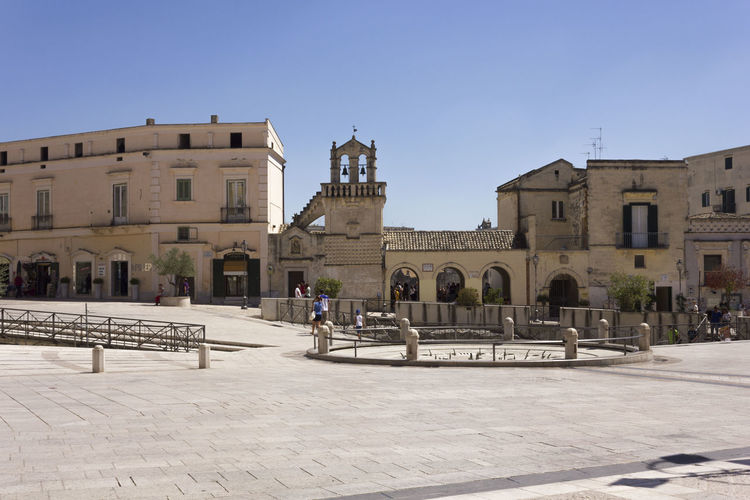 Matera Italy Unesco UNESCO World Heritage Site City Centre Urban