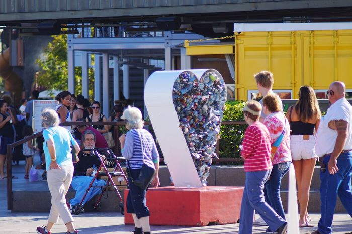 I Love My City Pixxzo Containerpark Freemont Street Lasvegas People Watching Streetphotography People Photography