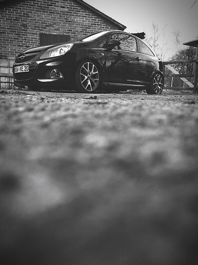 Land Vehicle Transportation Car Selective Focus Mode Of Transport Stationary Close-up No People Day Outdoors Opel Corsa D OPC
