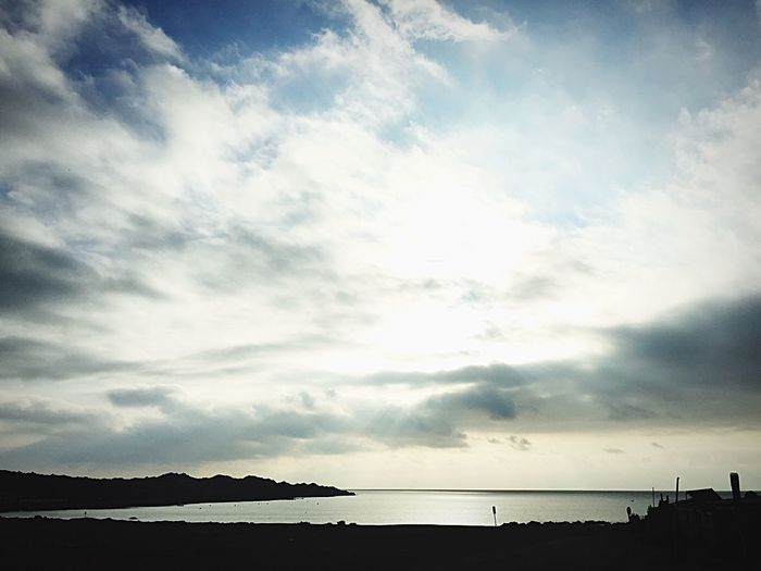 Balneario Flamenco Cloud - Sky Sky Water Beauty In Nature Scenics - Nature Tranquility Sea