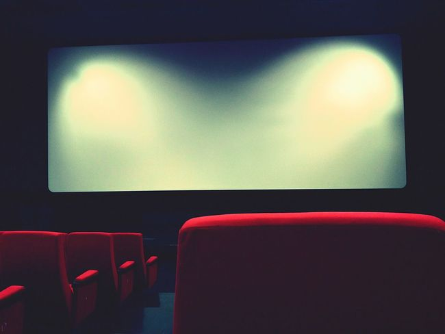 Cinema Indoors  Chair Red Film Industry Lobby Waiting Room Vibrant Color Movie Time Movieday Movielover Filmphotography Film Shot Photooftheday Moments Little Things Chill Comfortable