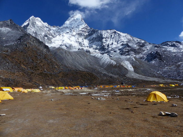 Ama Dablam Expedition Trekking Alpinism Alpinist Base Camp Beauty In Nature Camping Climbing Climbing Equipment Everest Extrem Sports Extreme Sport Mountain Mountain Peak Mountain Range Mountaneering Nature Outdoor