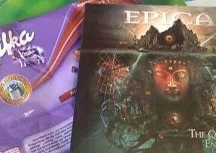 Love Is In The Air Epica The Quantum Enigma Gift From Boyfriend Love