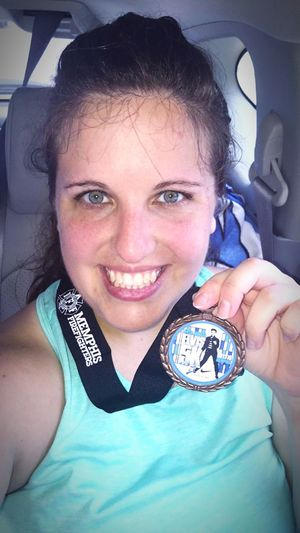 Ran the 34th Annual Elvis 5k this morning. TCB Elvis Presley 5k Run Running Jogging Exercise Selfie ✌ Self Portrait Health&fitness Hello World Me :)  ThatsMe JustMe Smile Girl Sweatyselfie Workout EyeEm GoodWorkout Enjoying Life Check This Out Sweat Funtimes Anotherone Memphis