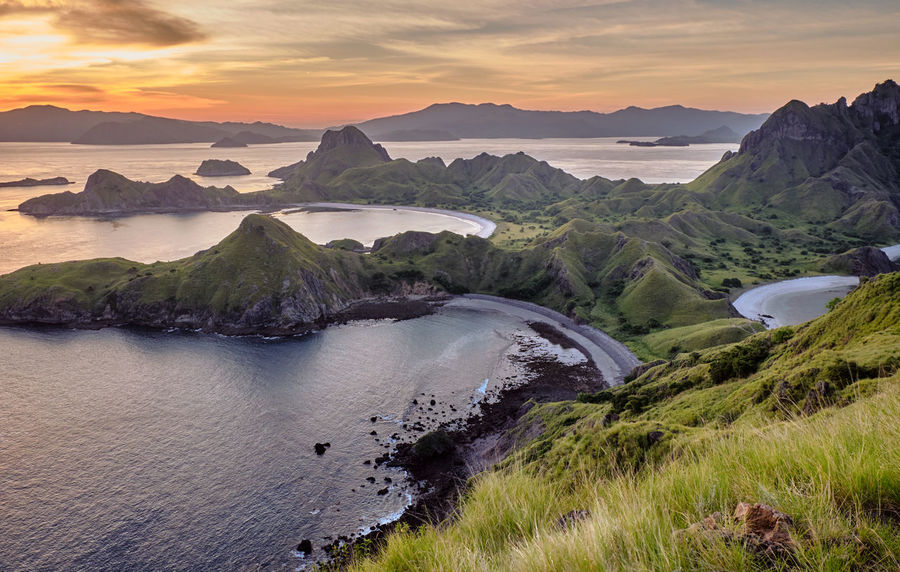 ASIA Ende INDONESIA Vacations Views Beauty In Nature Cloud - Sky Flores Komodo Komodo Island Komodo National Park Labuanbajo Landscape Muti Colored Nature No People Non-urban Scene Outdoors Parda Island Scenics - Nature Tranquil Scene Travel Destinations