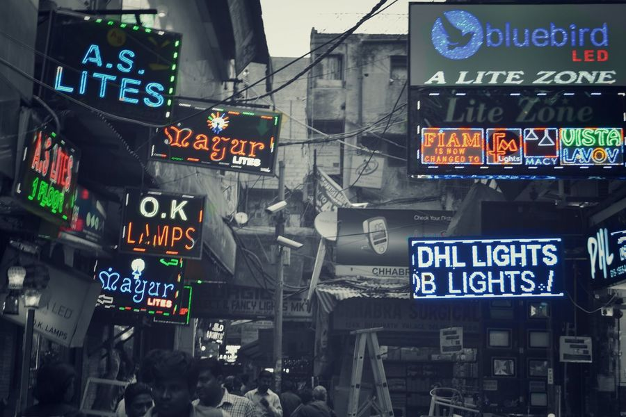 Here Belongs To Me Lights Light And Shadow Black And White Streetphotography Glow Old Delhi