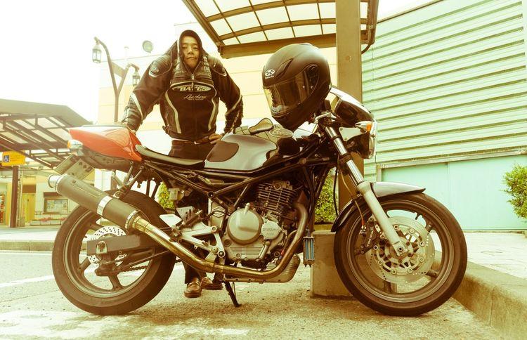 Jami-rider's never gonna stop! Selfie Motorcycles Goose Jamira