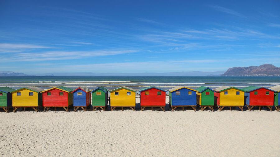 Beach Hut Sea
