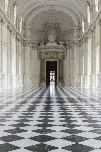 Arch Architecture History Travel Destinations Tourism Corridor Built Structure Indoors  No People Day King - Royal Person Reggia Di Venaria Reale Manica A Sud Juvarra Gviarizzo