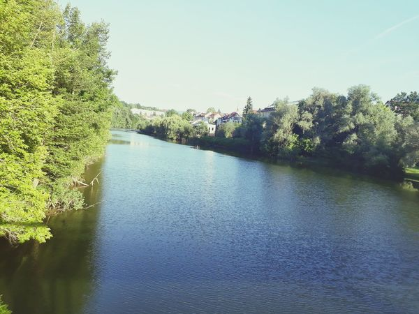 River Krka in the summer afternoon Water Tree Reflection Peaceful Beauty In Nature Novo Mesto EyeEmNewHere Slovenia Nature Outdoors Day Cityscape Sunshine Clear Sky River River View Riverscape Krka Lake Sky Nature No People Beauty In Nature