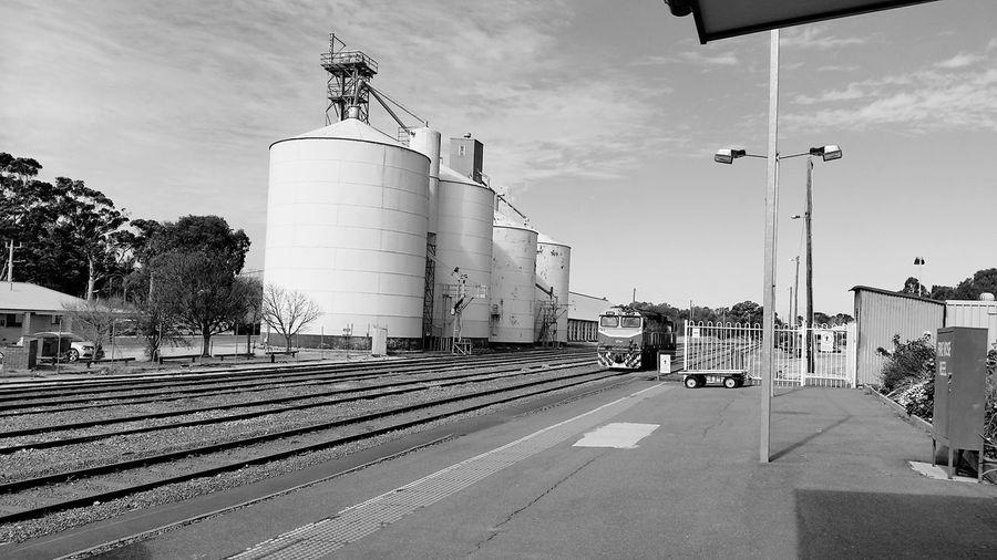 Silos Steel Mill