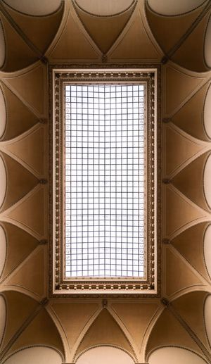 Roofing 101 Hungary Budapest Szépművészeti Múzeum Roof EyeEm Selects Window Pattern Architecture Indoors  Backgrounds Design Built Structure Geometric Shape Art And Craft Full Frame Craft Building Architecture And Art