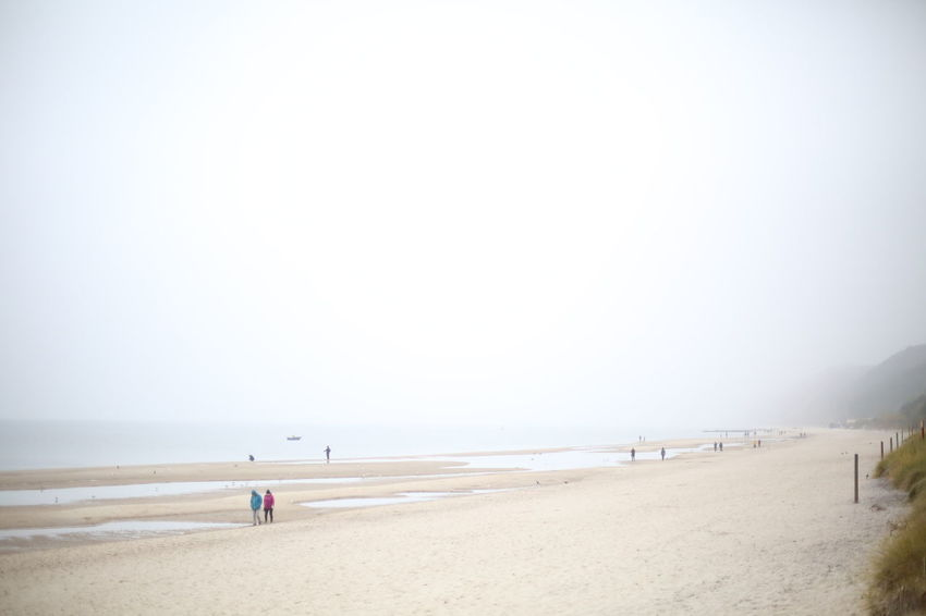 Polish Baltic Shore Alone Autumn Baltic Sea Baltic Sea Winter Beach Beauty In Nature Clear Sky Day Horizon Over Water Leaf Mist Nature No People Outdoors Portrait Quiet Sand Scenics Sea Selfie Sky Tranquil Scene Tranquility Water Wollin