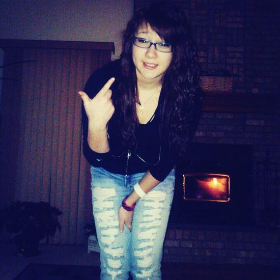 you aint gone break my smile <3