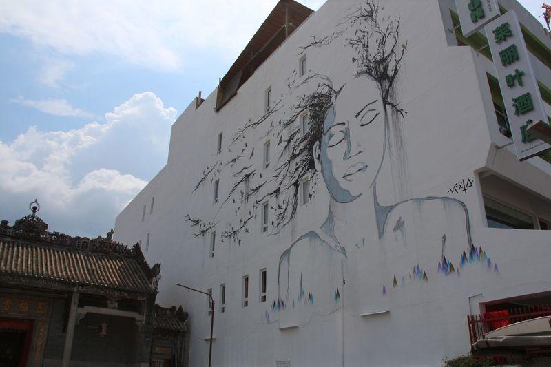 Urban Art Street Art Graffiti Art Wall Art Street Photography in Georgetown Penang Malaysia South East Asia World Heritage