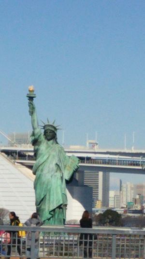 お台場 お台場 アクアシティ Odaiba Tokyo Odaiba 自由の女神 久しぶりに来ました( ̄^ ̄)ゞ