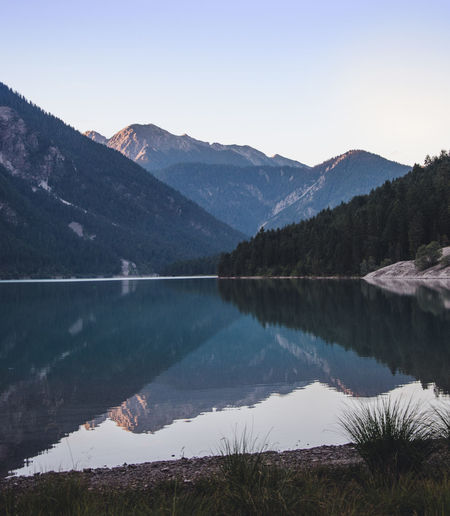 Step for step,.. cold mornings in South Tyrol,still rocking it Beauty In Nature Day Environment Idyllic Lake Landscape Mountain Mountain Peak Mountain Range Nature No People Non-urban Scene Outdoors Plant Reflection Scenics - Nature Sky Tranquil Scene Tranquility Tree Water