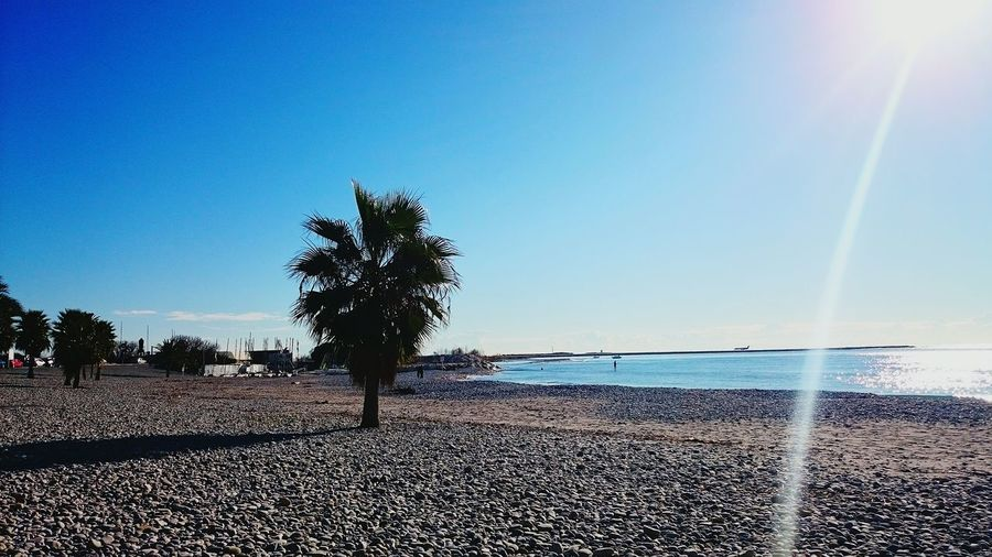 South Beach Sea Sun Sunshine Mediterranean  Blue Blue Sky Sea And Sky French Riviera