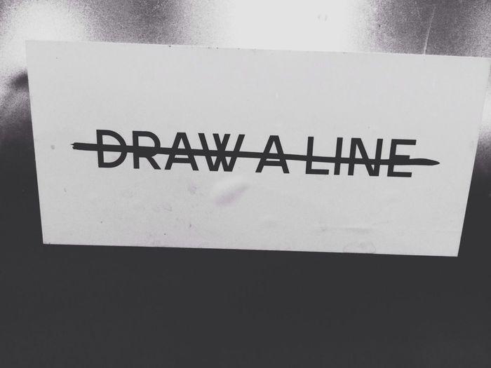 Draw a line.