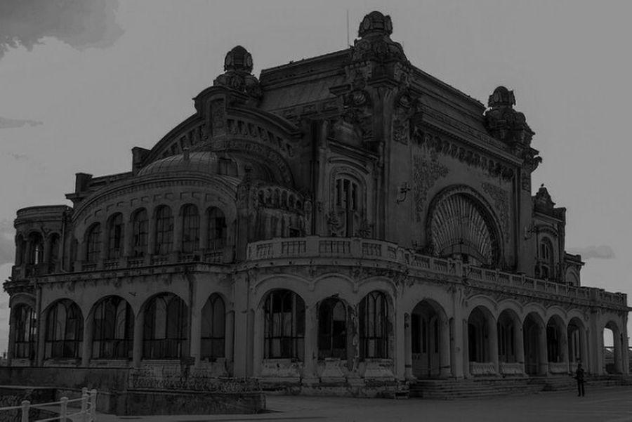constanta romania Constanta Romania Builiding classic building Black And White