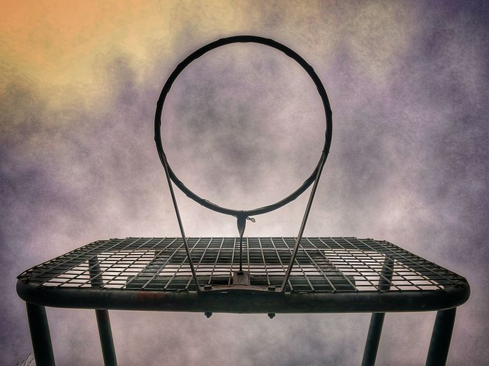 Basketball Hoop Basketball - Sport Sport No People Lost In The Landscape EyeEmNewHere The Week On EyeEm Outdoors Boundaries Discovery Lines And Angles Derelict Urban Geometry Hoops B Ball Shades Of Winter The Graphic City The Street Photographer - 2018 EyeEm Awards