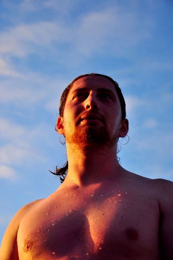 The Portraitist - 2016 EyeEm Awards in the sunset sun rays Young Man Young Man Portrait Light Body Face Red Beard Beard Free Freedom 43 Golden Moments Natural Light Portrait