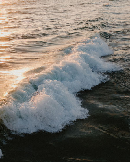 Beauty In Nature Close-up Day High Angle View La Nature No People Outdoors Scenics Sea Sunset Tide Tides Tranquil Scene Tranquility Water Wave Waves Waves Crashing Waves Rolling In Waves, Ocean, Nature
