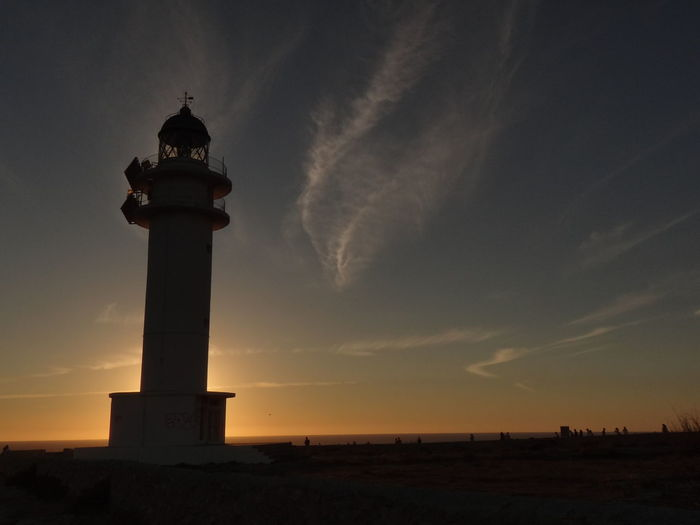 City Cityscape Sunset Water History Sky Architecture Building Exterior Travel Lighthouse