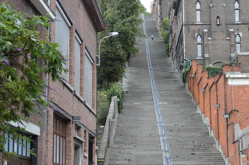 Belgium Belong Anywhere Built Structure City Life Luik Montagne De Bueren Street The Way Forward