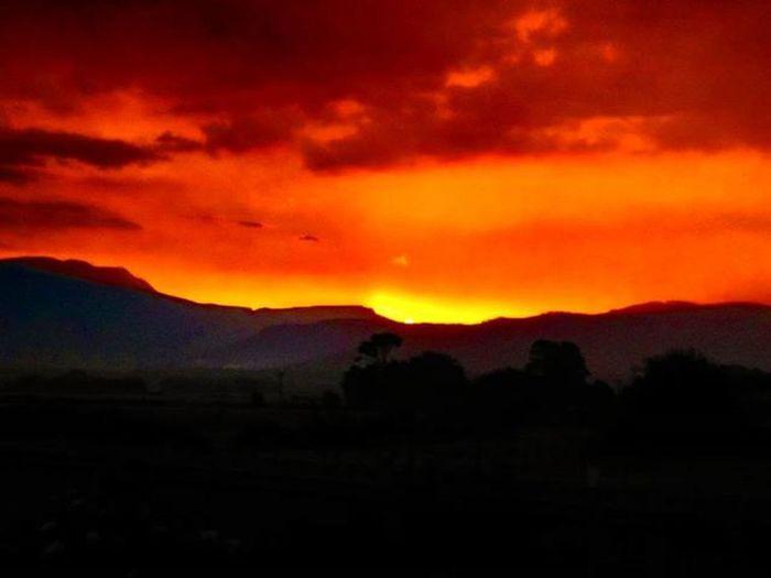 Sunset on Tasmania 🌄 Nofilter Australia Australia_journey Australiaroadtrip Roadtrip Roadtrippin Ontheroad Travel Instatravel Tasmania Launceston Sunset Beautifulview Beautifulsky Discovertasmania