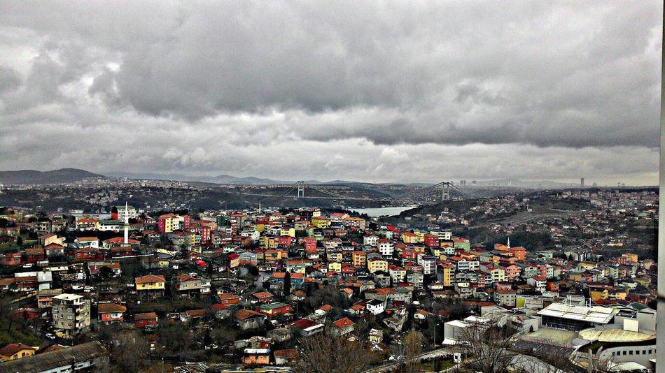 Lonliness Loneliness Jj  Clouds In Istanbul Istanbul Istanbul Turkey HDR Hdr Edit Colorful Boğaz Köprüsü