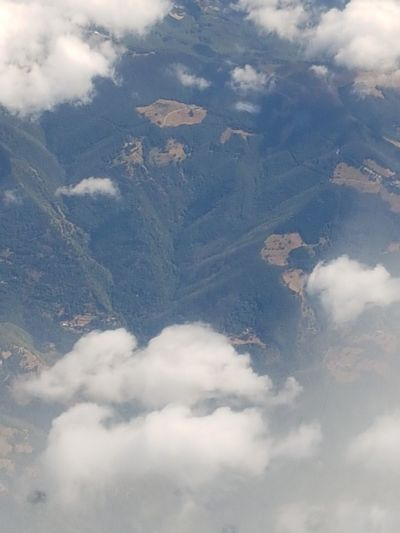 Cloud - Sky Mountain No People Nature Aerial View Forest Outdoors Mountain Range Landscape Day Sky Snow Above Flying