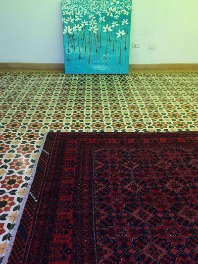 Tiles Tiled Floor Tiled Rug Vintage Rug Pattern Indoors  Tile Textured  No People Day