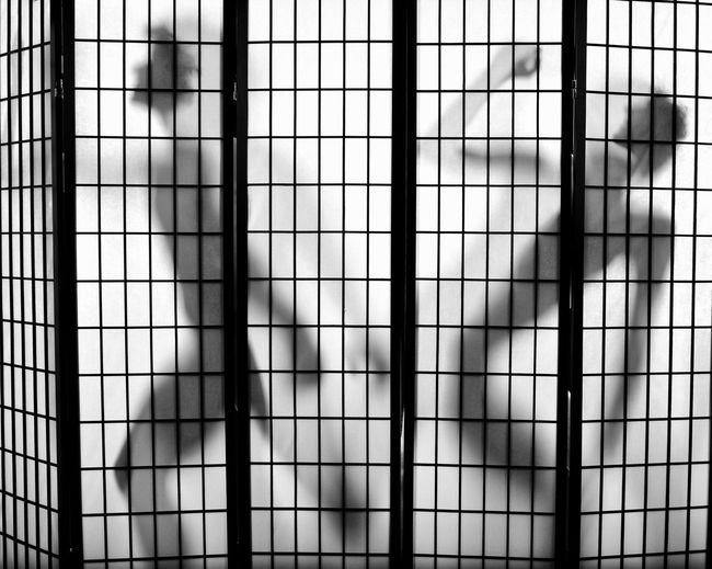Shadow People Shadows Shadows & Lights Room Divider Screen Models Two People Duo Pair Bnw Bnw_collection Blackandwhite Dance Move Bend Men Male Model