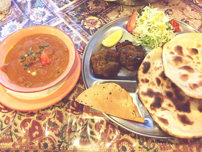 ひよこ豆のカレーをロティで♬ @Roopali インドカレー カレー Roopali Curry Food Meal