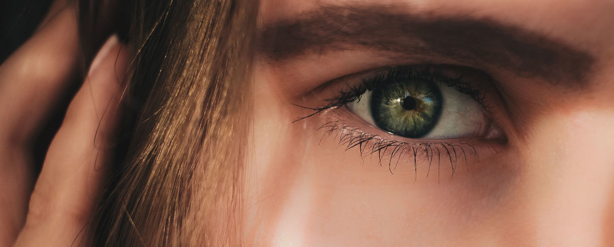 my eye Green