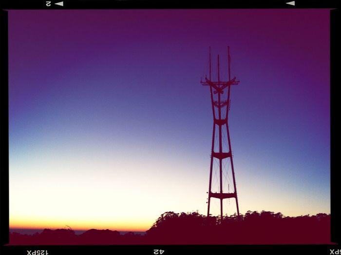 #sutrosunset Sunset  Sutro Sunset