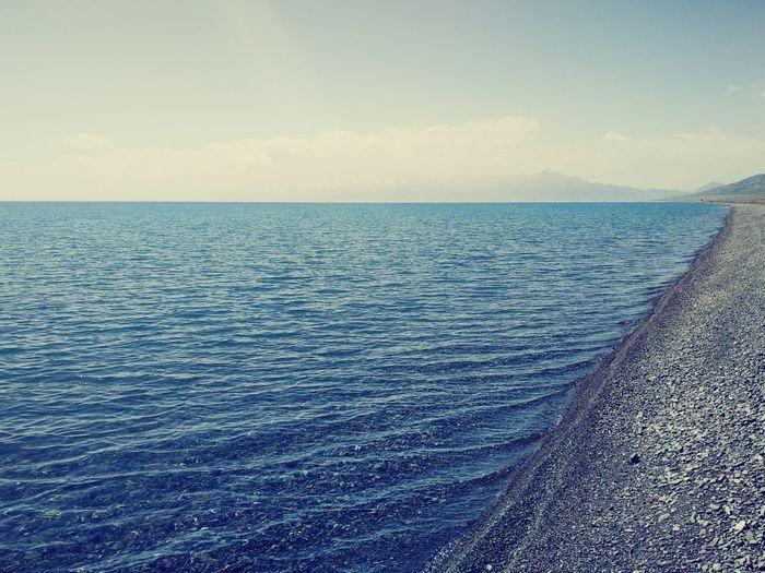 Here,in this world,out of secular XinJiang Sailimu Lake 新疆 赛里木湖