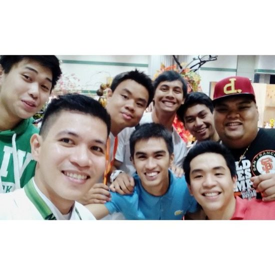 With the gang! ??? YHE MAFBEX Oscarselfie Themanansala lol