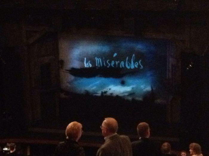 Saw Les Miserables