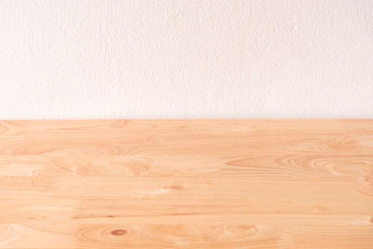 Close-up shot of wooden floor