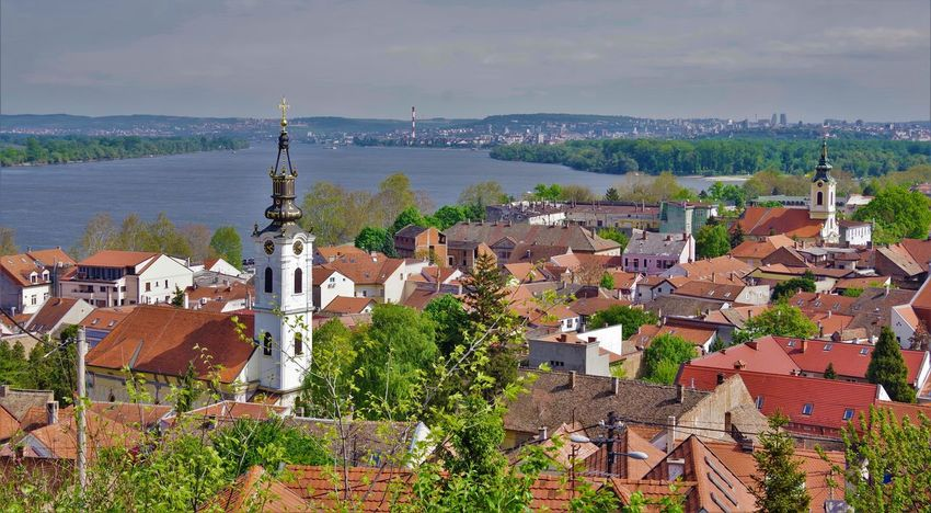 Belgrade Belgrade Serbia Belgrade,Serbia Church Tower Danube Donau Travel Travel Photography Traveling Travelling ZEMUN, Belgrade, Serbija, Zemun Zemun Belgrade Bell Tower Bell Tower With Clock City City View  Danube River High Angle View Travel Desinations Travel Destination Travel Destinations Zemun-belgrade-serbia