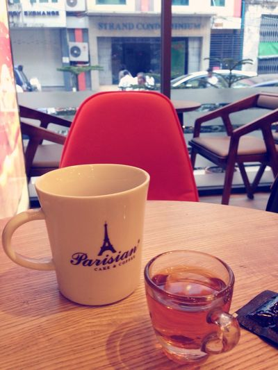 Relaxing Strong Coffee Coffee Urban Landscape Enjoying Life Ygn Downtown